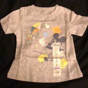 Disney Mickey Mouse Tee Shirt, size 3 months